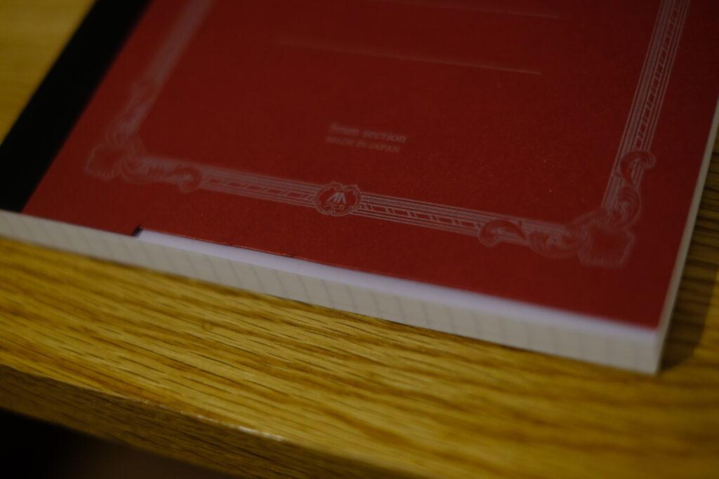 紳士なノートを工作-アップ